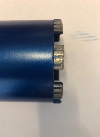 127MM X 460MM WET CORE 1 1/4 INCH UNC