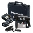 PANASONIC EY7880LP2C 28.8V SDS+ PLUS ROTARY HAMMER DRILL INC 2X 3.0AH BATTS